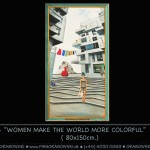 99_603 - WOMEN MAKE THE WORLD MORE COLORFUL ( 80x150 ) -144dpi